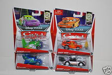 New Disney Cars Boost, Wingo, Snot Rod, DJ, All with Flames, 1:55, Diecast