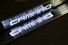 LED Light Illuminated Door Sills Scuff Plate Cover for GM Chevy Chevrolet Camaro