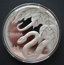 CANADA 2013 $250 1 KILO SILVER COIN YEAR OF THE SNAKE