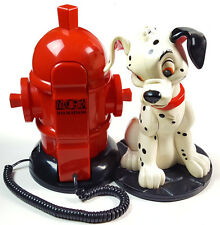 VTG 101 Dalmatians Official Disney HUGE 13 x 11 Telephone Fire hydrent RARE!