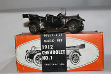 Micropet 1912 Chevrolet Touring Cart, Made in Japan,  1/43 Scale with Box