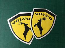 volvo shield moose decal elk sticker left right exterior animal sticker 2X