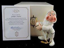 "Lenox ""Grumpy's Treasure"" from Snow White Disney Showcase Collection, MIB, COA"