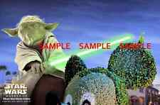 "Disneyland StarWars Weekend Yoda  [ Star Tours ] 8.5"" x 11"" Poster"