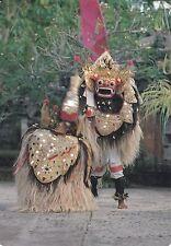 THE BARONG DANCE, BALI, INDONESIA Postcard - VINTAGE!