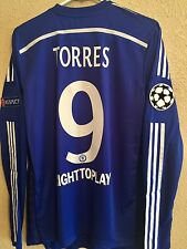 Chelsea Torres Atletico 7,8,9,10,11 Player Issue Shirt uefa  Match Unworn Jersey