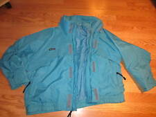 Columbia whirlybird jacket AQUA (miami dolphins color!!) mens LARGE