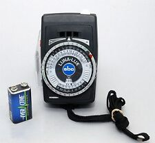 GOSSEN LUNA-LUX SBC LIGHT METER!! 90-DAY WARRANTY!! EXCELLENT PLUS CONDITION!!
