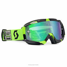 Scott Hustle Monster Energy Pro Circuit 25th LE Goggle Green Chrome Lens MX
