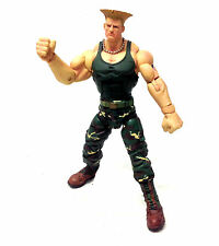 "Sota Toys STREET FIGHTER - GUILE 6"" video game figure, not boxed"