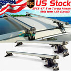 "47""INCH Car Top Luggage Cross Bar Roof Rack Ski Carrier Fit Toyota Nissan Pair"