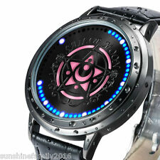 Cosplay Sailor Moon LED Screen Waterproof Women Men Anime Watch Wristwatch