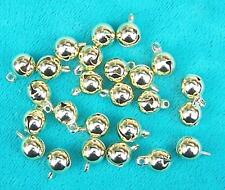"25 GOLD-PLATED SUPERIOR ""HAWK BELLS"" CRAFTS 7mm"