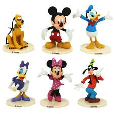 6PCS MICKEY MOUSE CLUBHOUSE Figure Set Mickey Minnie Goofy PVC KIDS TOY GIFT