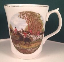 Jason Works Nanrich Pottery~fine bone china~Staffordshire England~Cup~Horse Jump