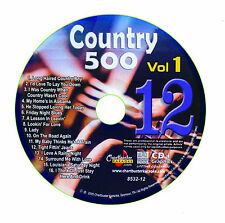 KARAOKE CHARTBUSTER CD+G COUNTRY 500 CB8532 VOL.1 DISC # 12