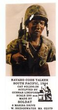 SOLDAT GL200.08 - NAVAHO CODE TALKER, SOUTH PACIFIC 1944 BUST 200mm RESIN KIT