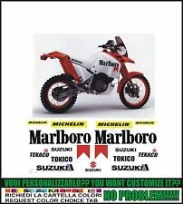 kit adesivi stickers compatibili dr big paris dakar marlbo