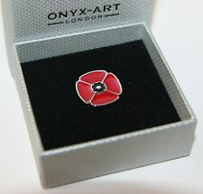 Lapel Pin - POPPY Design *New* Gift Boxed