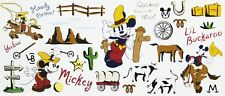 Disney Mickey Mouse Wall Sticker Decal Nursery Kids Room Wall Decor Made in USA
