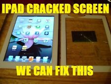 Apple iPad 2nd 3rd 4 Air 1 Digitizer Glass Screen Replacement Repair Service