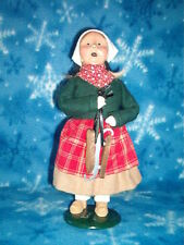 Byers Choice 1992 DUTCH GIRL with SKATES, mint