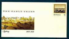 AUSTRALIA - 1988 - BUSTA - 37c - Sydney: I primi anni:1803-1808. By Sandra Baker