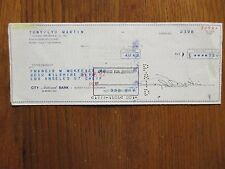 """CYD CHARISSE(Died-2008)(""""Silk Stockings""""/Tony Martin)Signed Cancelled 1962 Check"""