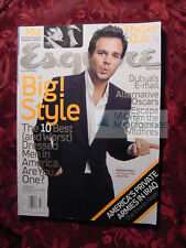 ESQUIRE magazine March 2004 MARK RUFFALO MIA KIRSHNER +