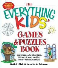 Kids Games and Puzzles Book : Secret Codes, Twisty Mazes, Hidden Pictures,...
