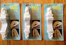 12 BED SHEET GRIPPERS FASTENERS HOLDERS STRAPS ELASTIC (3 PACKS) - NEW