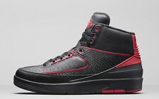 2016 Nike Air Jordan 2 Retro SZ 9 Black Varsity Red Alternate 87 II 834274-001