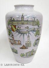 Große Vase Fidelitas Karlsruhe KARLSRUHER MAJOLIKA Schloss