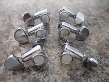 IBANEZ 3 + 3 VINTAGE GUITAR MACHINE HEAD TUNERS FROM 1970'S - PATENT PEND.  #30