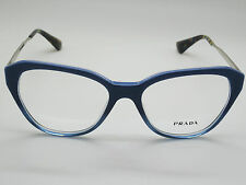 NEW Authentic PRADA VPR 28S UFW-1O1 Blue Gradient 52mm Rx Eyeglasses