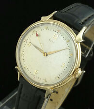 VINTAGE ELGIN 607 BUMPER AUTOMATIC MENS WATCH FANCY LUGS – PIZZA PIE DIAL