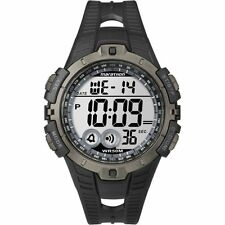 Timex T5K802, Men's Marathon Resin Watch, Indiglo, Alarm, Stopwatch, T5K802M6