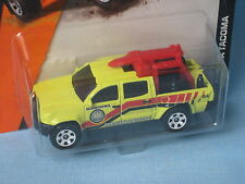 Matchbox Toyota Tacoma Life Guard Beach Rescue Yellow Toy Model Car 73mm Long
