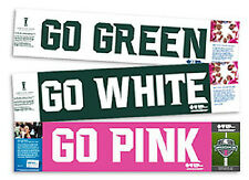 MICHIGAN STATE SPARTANS HOMECOMING 2013 MSU CHEER CARD GO GREEN WHITE PINK SET/2