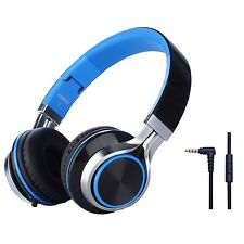 Folding Headset Strong Low Bass Headphones with Microphone, p9W3D
