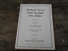 MICHAEL AARON COURS DE PIANO POUR ADULTES PREMIER LIVRE A 15€ ACH IMM FP RED MON