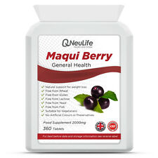 Maqui Berry - 2000mg - 360 Tablets