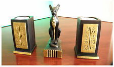 Bastet Egyptian goddess of love 2 Candlesticks decoration gift