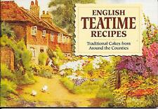 ENGLISH TEATIME RECIPES Traditional Cakes Published by J Salmon Paperback 1998