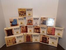 NEW THE HOUSE OF MINIATURES DOLL HOUSE FURNITURE 11 BOXED LOT CHIPPENDALE KITS