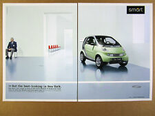 2002 Smart CITY COUPE Car MoMA Museum of Modern Art display photo print Ad