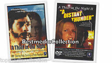 2 Pack - A Thief In The Night & A Distant Thunder DVD NEW SHIPS TODAY !