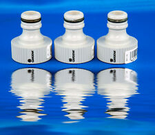 """3x GARDENA System connection Faucet piece G 3/4"""" 26,5mm f Water m Thread 0901"""