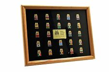 1994 McDonalds Restuant McDonaldland World Cup Framed Pin Set NEW