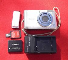 r Canon PowerShot A3100 IS 12.1 MP 4x Zoom Full Bundle Takes Good Pics   rw036.5
